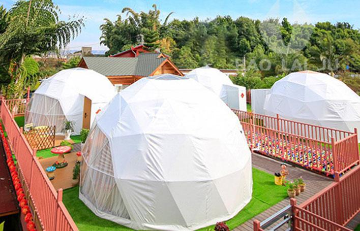 5米直径球形星空酒店帐篷